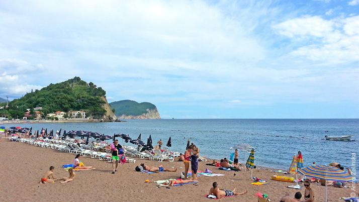 Пляж, Петровац