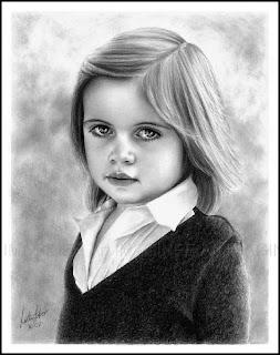 صور جميلة اطفال مرسومة بالقلم الرصاص 2013
