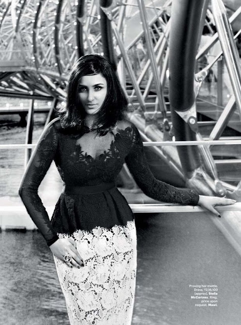 Parineeti Chopra in Retro Style Harpers Bazaar Photoshoot