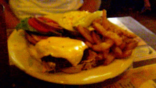 Cheeseburger in Paradise platter.