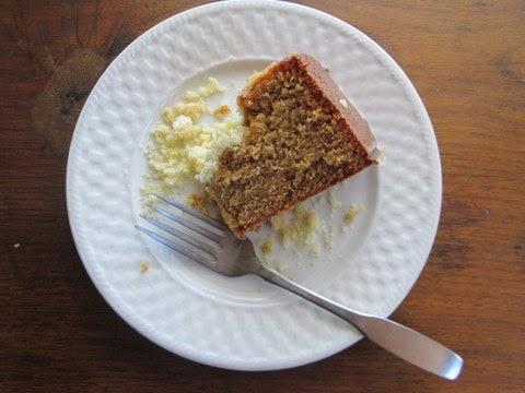 Sorghum Spice Cake
