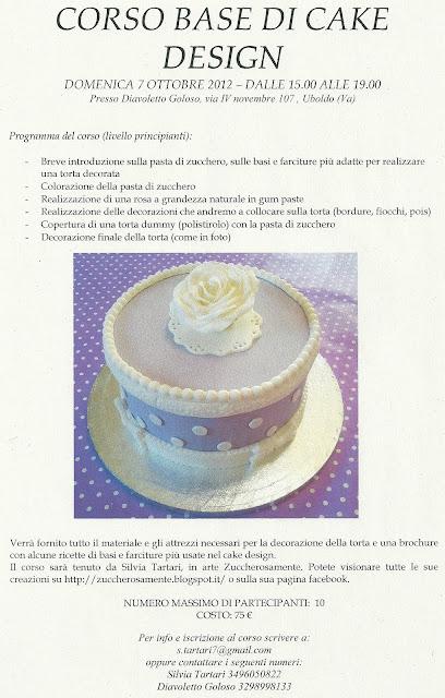 Zuccherosamente...: Corso base di cake design a Uboldo (Va ...