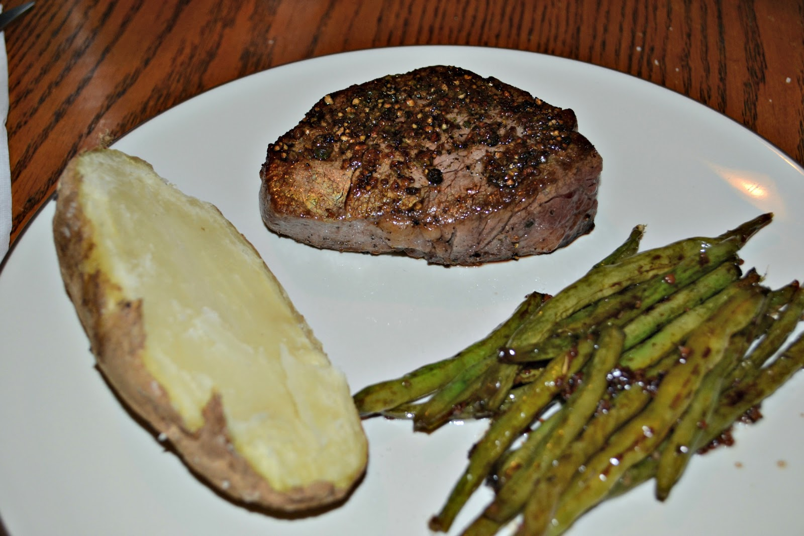 Pepper-Crusted Filet Mignon (slightly adapted from Cook's ...