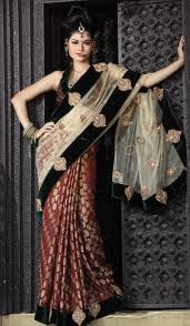 Latest Sarees Style For 2013