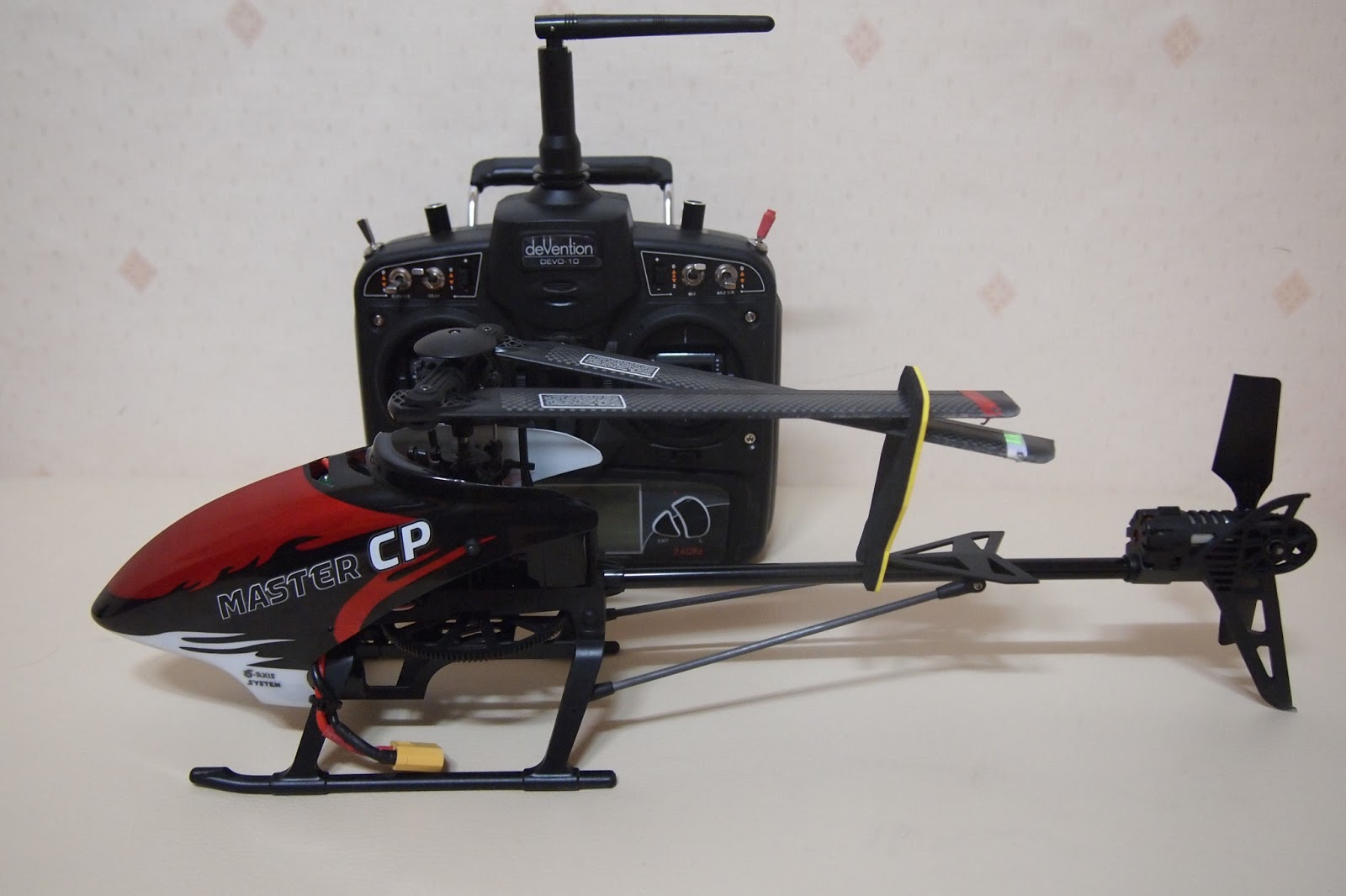 Walker Master Cp The 6 Channel Learning Heli