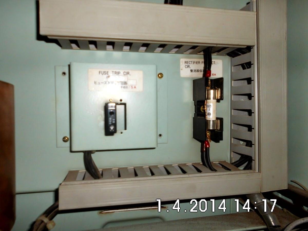 Perbaikan Trip Circuit pada Battery Switch Board