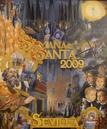 Cartel Semana Santa de Sevilla 2009