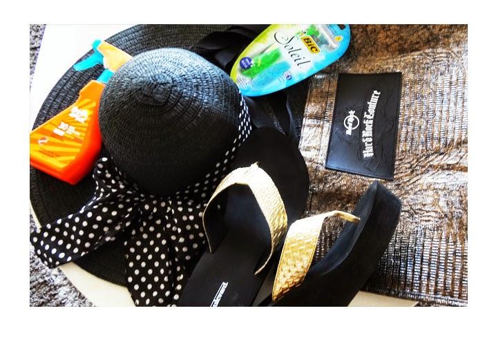 verano - sandalias gorro - bronceador y bolso -pamelavictoriacoutureblog.blogspot.com