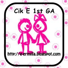Cik E 1st Giveaway