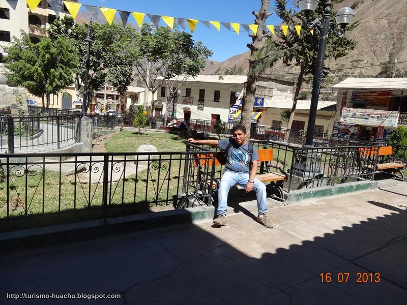 CHURÍN, Capital del distrito de Pachangara
