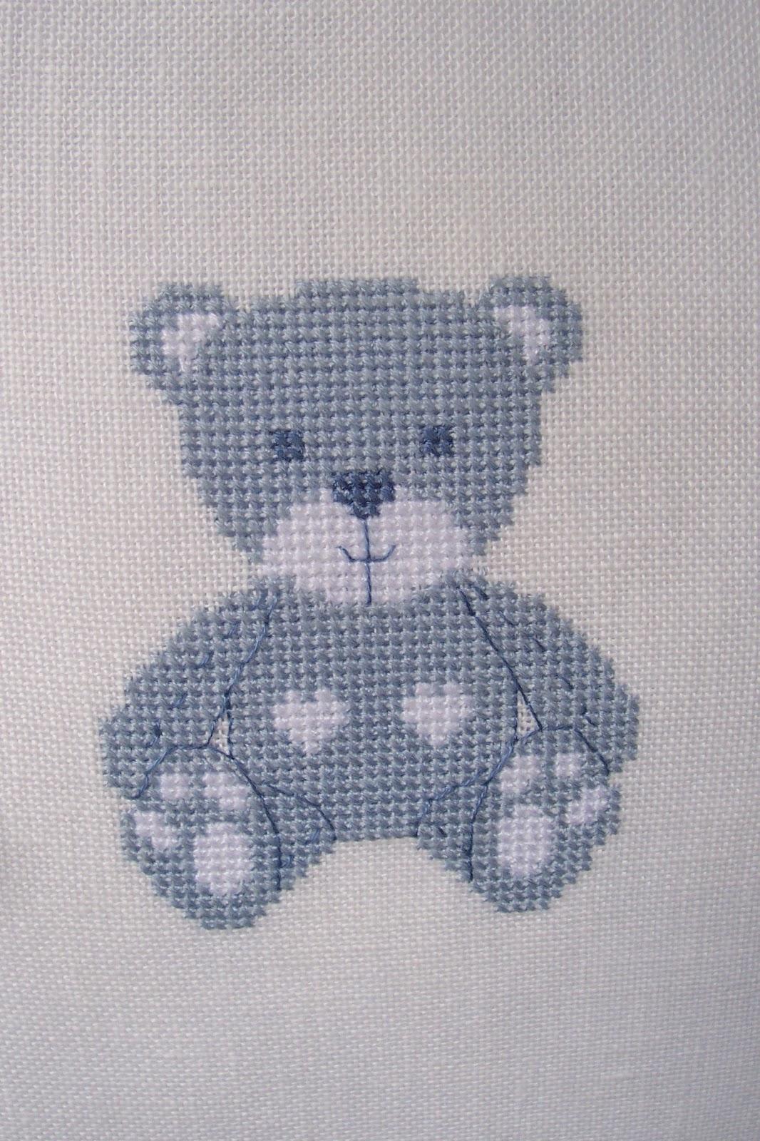 Irossi orsetto for Schema punto croce orsetto