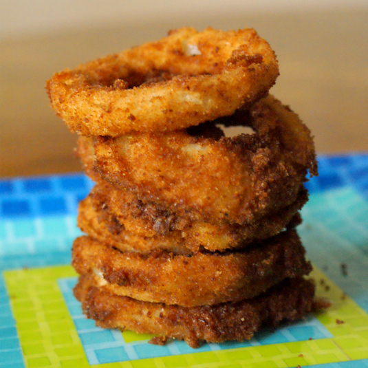Old Fashioned Homemade Onion Rings