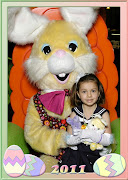 With Tim's help I have the Easter Bunny pictures as promised. easter bunny