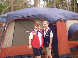 American Heritage Girls Inaugural Camp Out