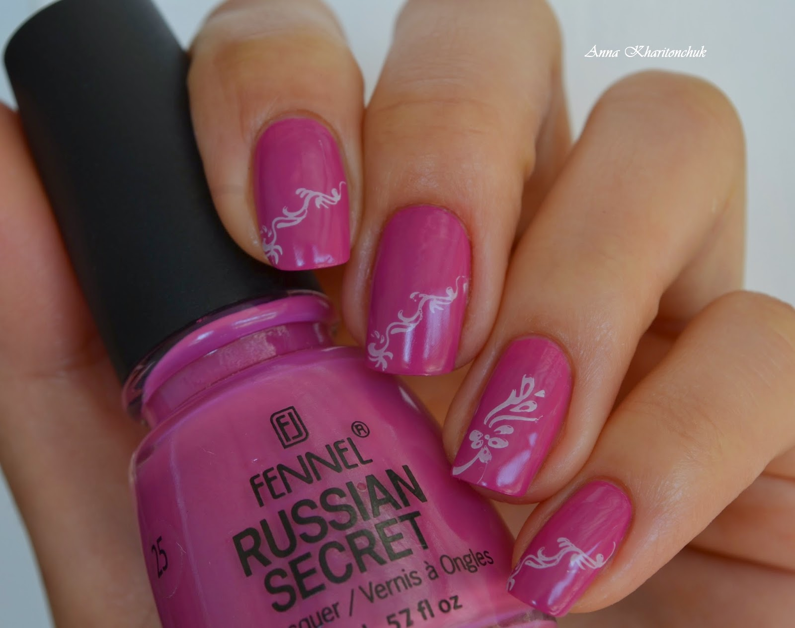 Fennel Russian Secret # 25 + стемпинг
