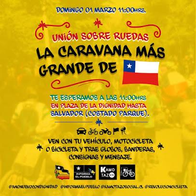 LA CARAVANA MÁS GRANDE DE CHILE. DOMINGO 1 DE MARZO