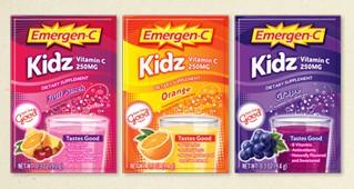 Amostra Gratis Vitamina C Emergen-C Kidz