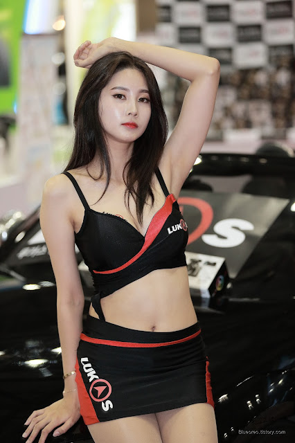 4 [New model] Han Yu Ri - Automotive Week 2015 - very cute asian girl-girlcute4u.blogspot.com