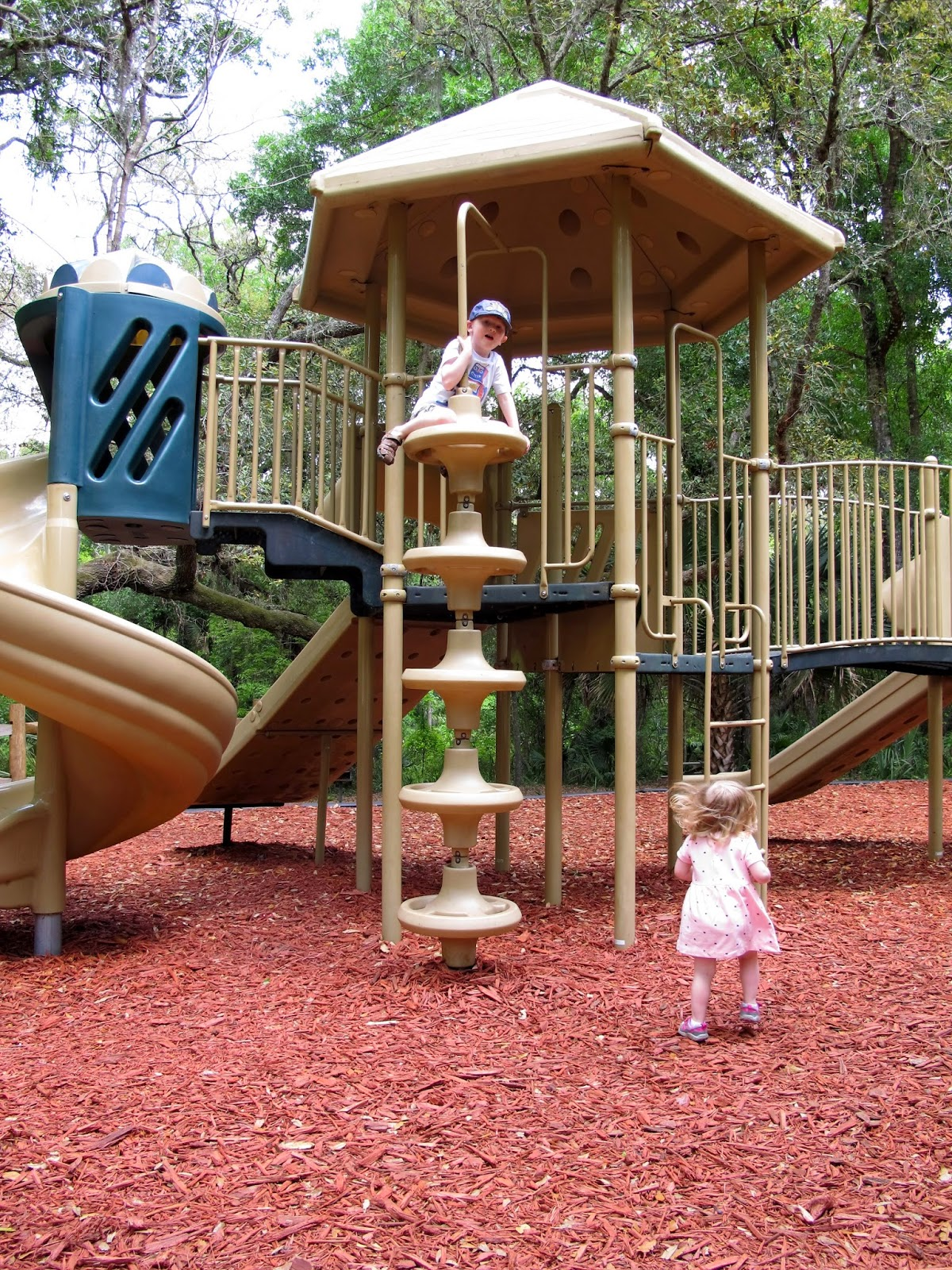 Playground Fun at Wekiwa Springs