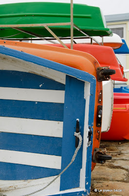 Bretagne - Ile de Sein - barques