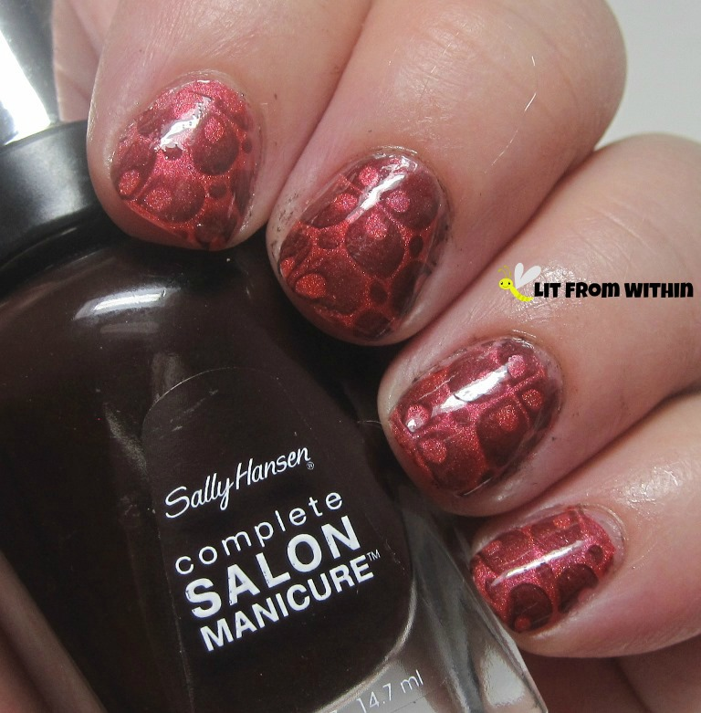 Sally Hansen Salon Cinnamon
