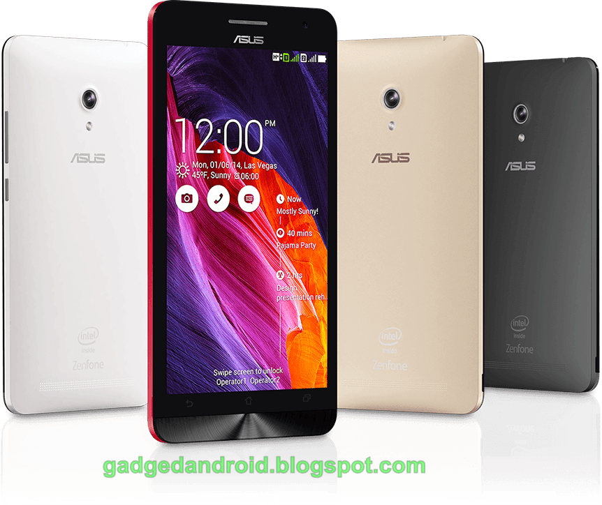 Cara Flash Asus Zenfone 6