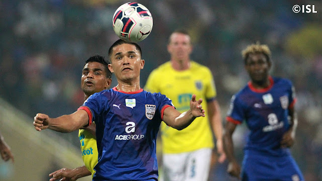Sunil Chhetri of Mumbai City FC, Hero ISL 2015