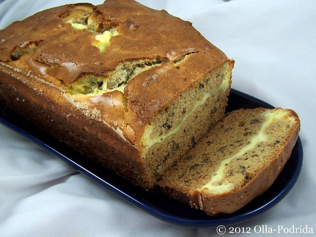 Olla-Podrida: Cream Cheese Nut Bread