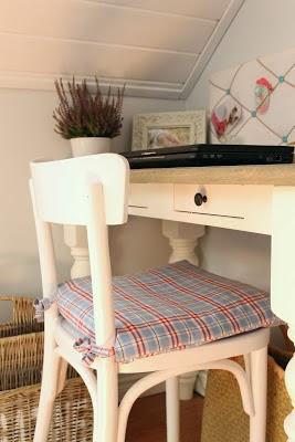 Krzesło po przemalowaniu