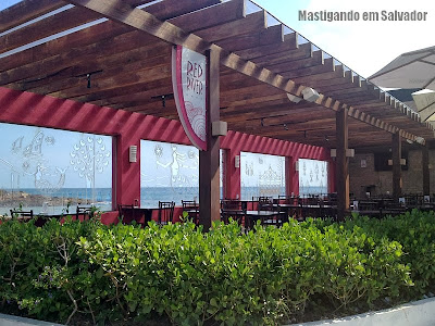 Red River Café: Fachada