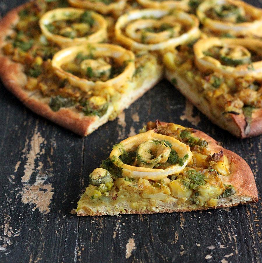 Spiced Corn And Chickpea Samosas Recipes — Dishmaps
