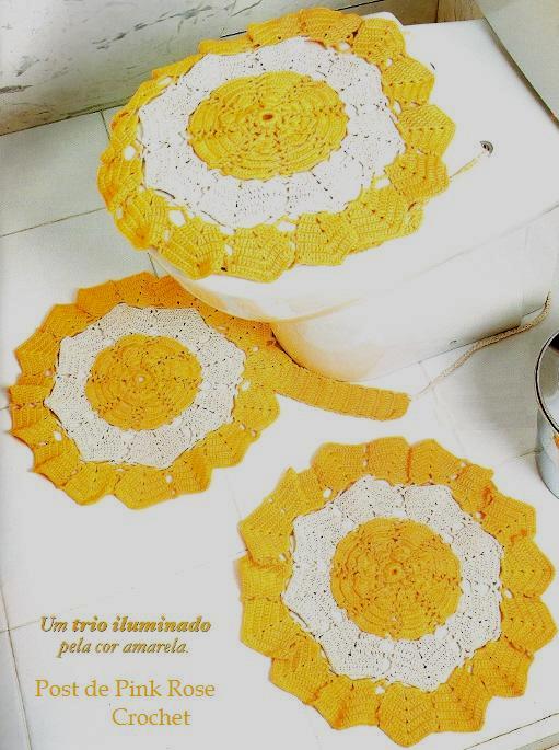 Tapete Floral Para Banheiro : para banheiro composto por pe?as em modelo redondo em formato de flor