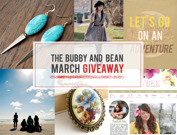 The Bubby and Bean March Giveaway // Win 6 Prizes Worth $180!