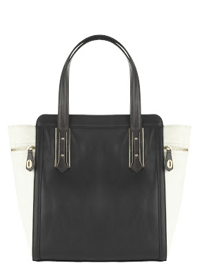 Marks and Spencer Black and White Tote Celine