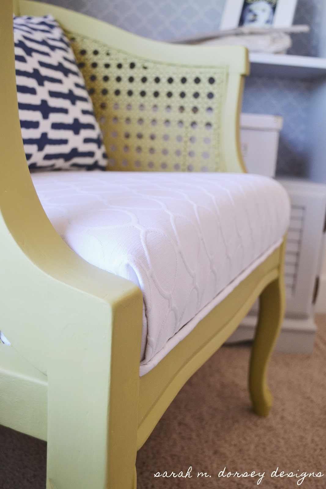 Comcane Chair Designs : purchased the feather pillow insert from Ikea for about $7 and made ...