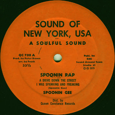 Spoonin Gee – Spoonin Rap (VLS) (1979) (192 kbps)