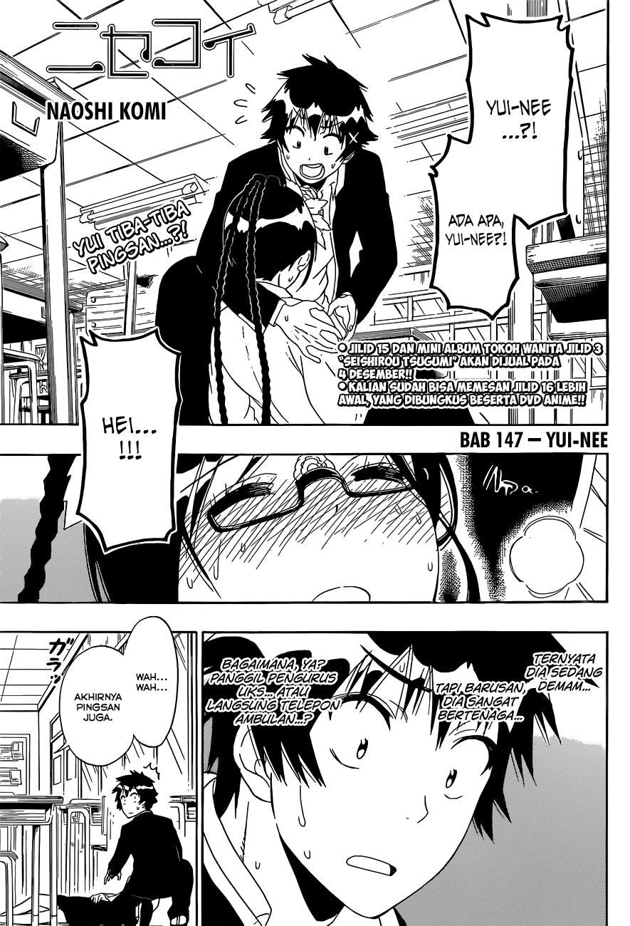Komik nisekoi 147 - yui nee 148 Indonesia nisekoi 147 - yui nee Terbaru 1|Baca Manga Komik Indonesia|