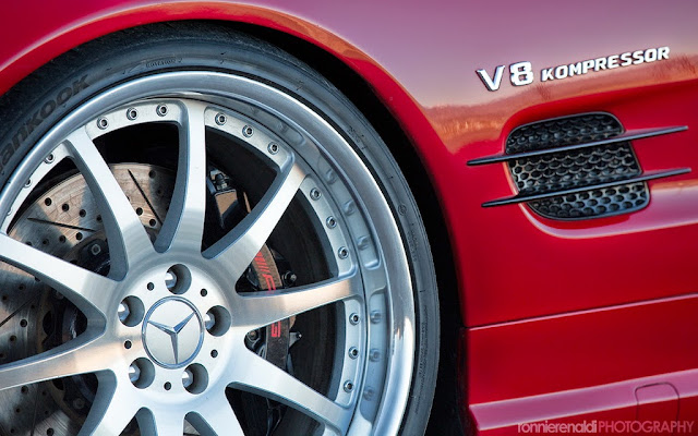 mercedes sl rims