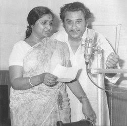Kishor Kumar With Asha Bhosle