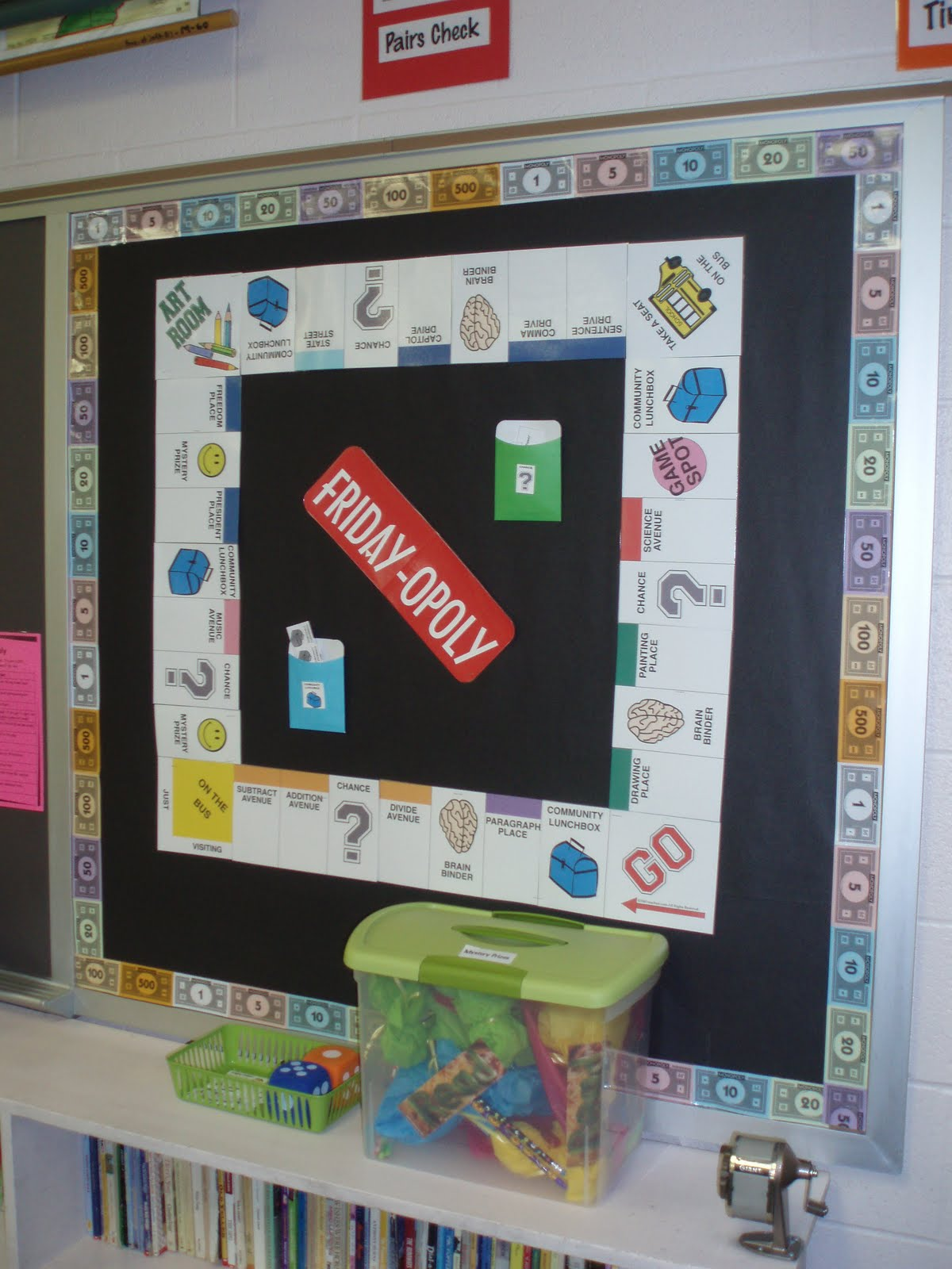 Classroom Game Ideas : Mrs shininger s game room theme