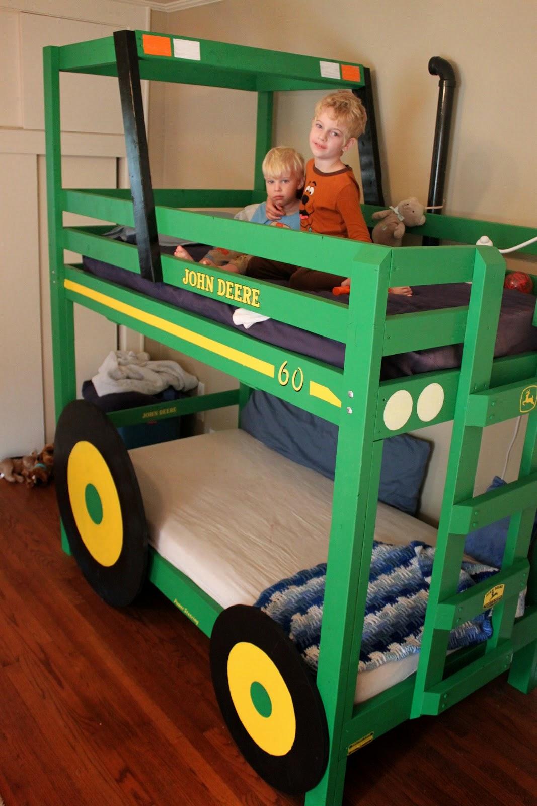 DIY Tractor Bunk Beds