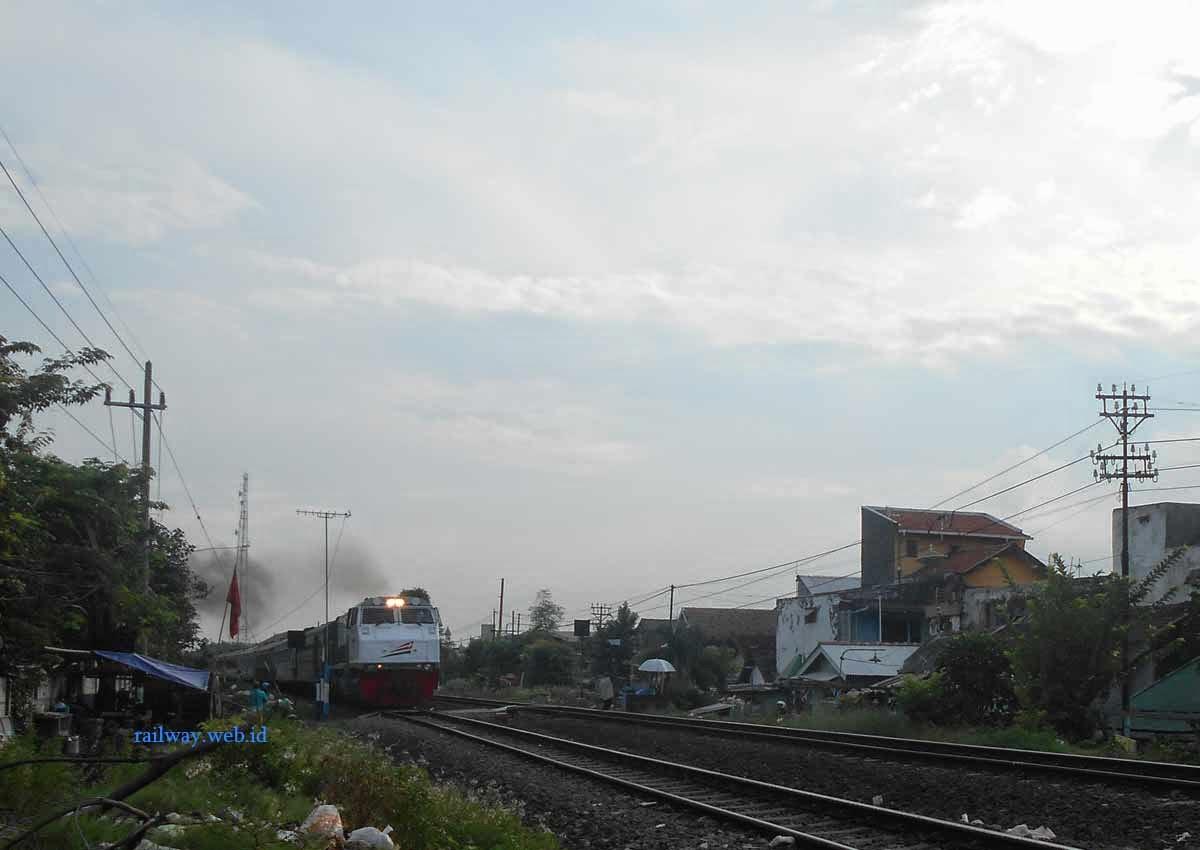 gambar kereta api argo wilis