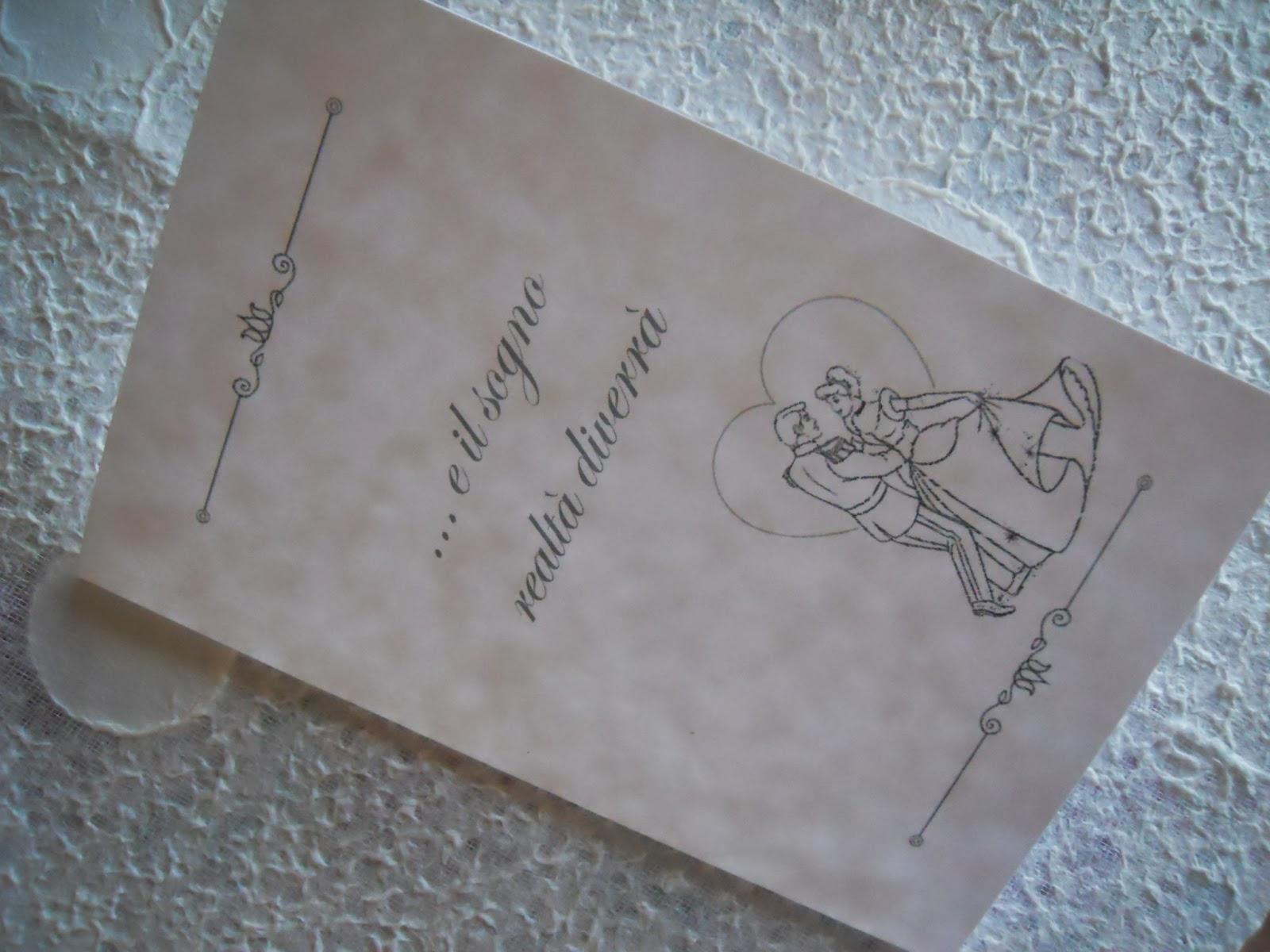 Partecipazioni Matrimonio Tema Disney : Eventilab partecipazioni e co ordinati tema quot favole