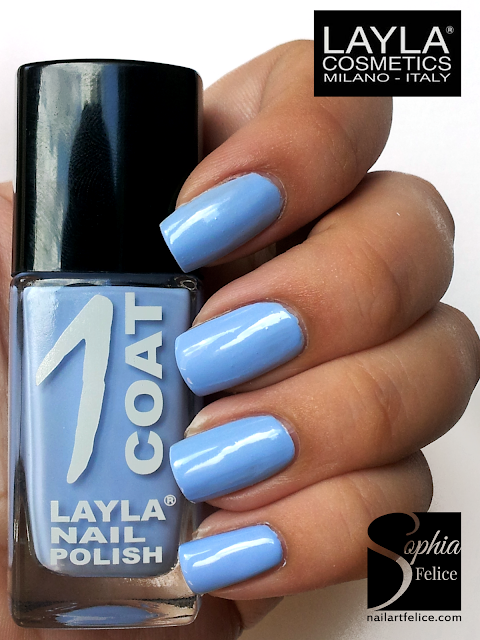 one coat layla n°18 - blue skies