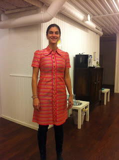 Marshmallow Electra vintage dress stockholm