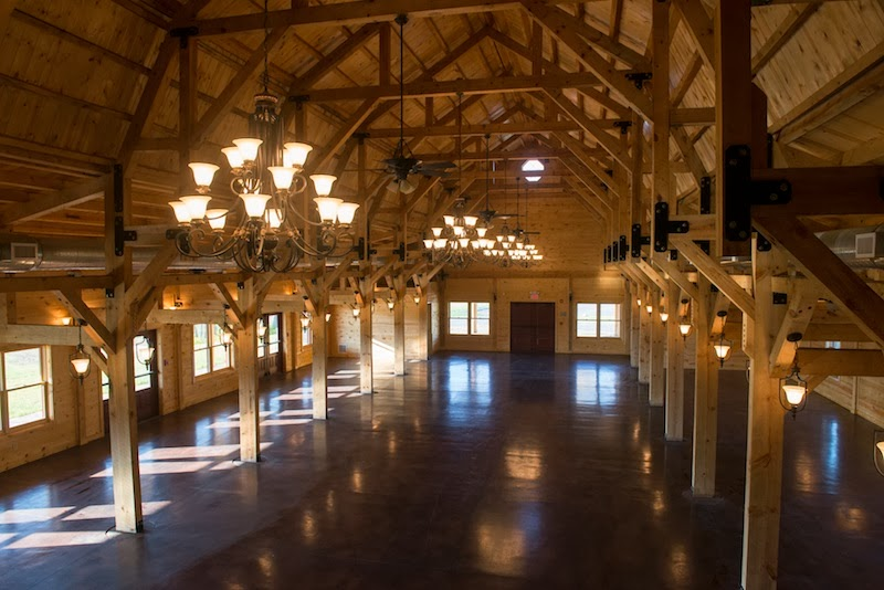 Canopy Creek offers a beautiful outdoor backdrop for wedding ceremonies or during the winter months the coziness of a rustic barn adorned with four ... & Featured Venue: Canopy Creek Farms | Village Pantry Catering