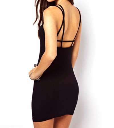 Open back Sexy Dress - $40