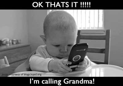 Ok, That's it. I'm calling Grandma Funny Photo and Qoutes