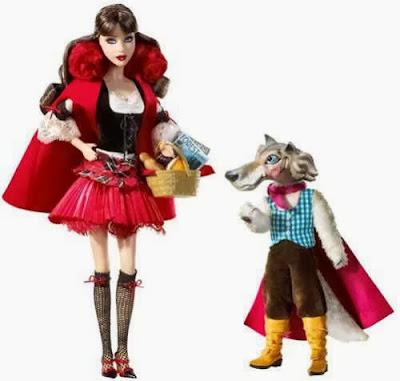 Barbie Caperucita Roja y el Lobo Feroz