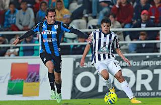 Querétaro vs Pachuca, Torneo Apertura 2015,  Liga MX
